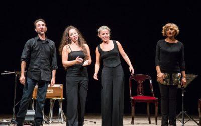 Lucilla Giagnoni, Fiammetta Fazio e Andhira
